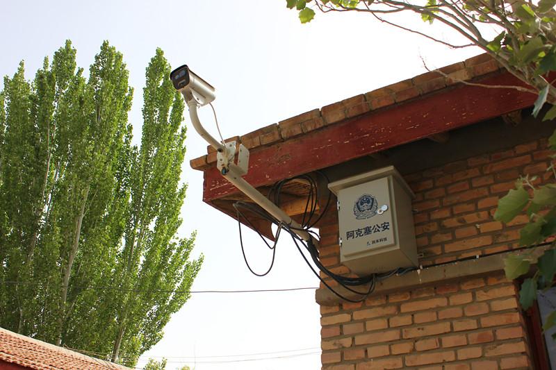 """阿克塞县公安局2015年度""""天眼工程"""""""